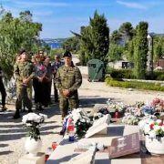 VIDEO Bibinjci se pomolili na grobu heroja Alfreda Lisice ubijenog na današnji dan