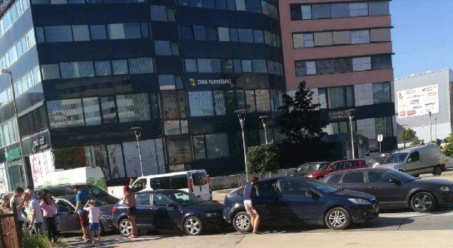 FOTO Lančani sudar četiri automobila u Zadru
