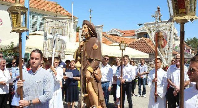 GALERIJA Velika procesija u Bibinjama povodom proslave blagdana Sv. Roka