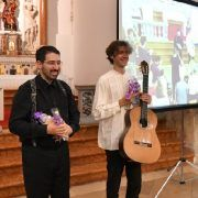 Orguljaš Pavao Mašić i gitarist Petrit Çeku oduševili publiku u crkvi Sv. Mihovila