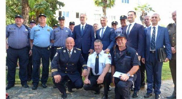 Ministar Božinović u Zadru; Posjetio Stožer za provedbu mjera sigurnosti