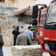 Policija traga za počiniteljem koji je zapalio kuću u Arbanasima