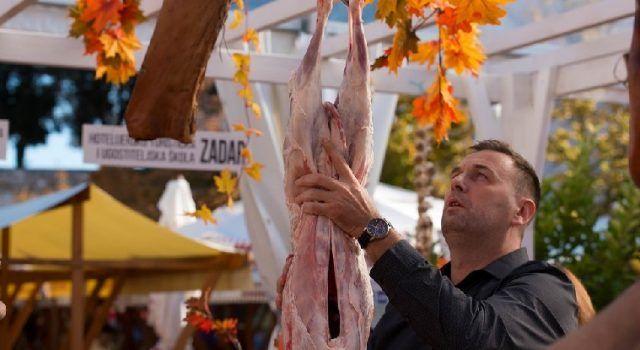 POJELO SE 500 PORCIJA JANJETINE Uspješan 1. dan Festivala mesa u Zadru