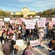 CIJELA HRVATSKA NA NOGAMA Traže pravdu za silovanu djevojčicu iz Zadra