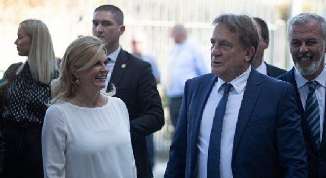 Kalmeta dočekao Kolindu na Višnjiku: Naša predsjednica je brend u svijetu!