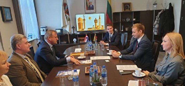 Gradonačelnik Dukić bio u službenom posjetu Litvi