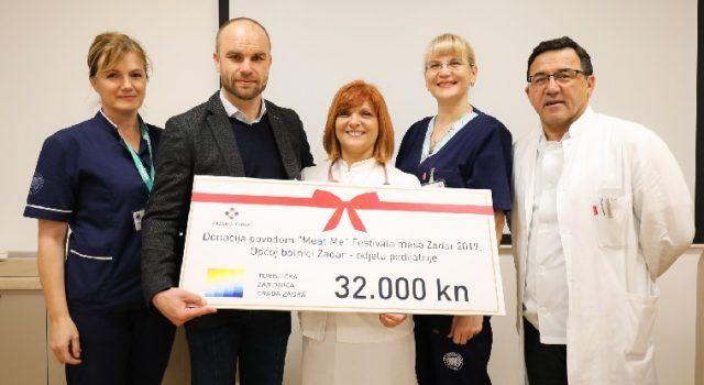 Mario Paleka uručio Odjelu za pedijatriju donaciju od 32.000 kn za novi ultrazvuk
