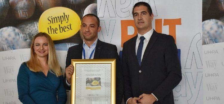 "USPJEH I PRIZNANJE Općina Vir dobila prestižnu nagradu ""Simply the best"""