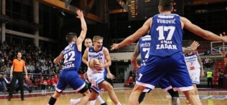 Zadrani u Beogradu poraženi od Partizana s 27 koševa razlike