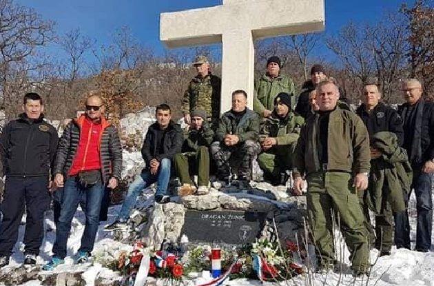 Obilježava se 27. obljetnica pogibije Dragana Žunića, pripadnika Poskoka