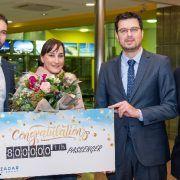 Veronika Vulin dobila nagradno putovanje kao 800.000 putnica Zračne luke Zadar