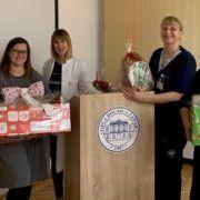 Djelatnici Dječjeg vrtića »Smješko« iz Vira predali donaciju Odjelu pedijatrije