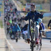 GALERIJA Na 28. Božićnoj biciklijadi Zadar Vir sudjelovale 552 osobe