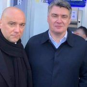 Načelnik Vira Kristijan Kapović podržao Milanovića; Zajedno šetali ulicama Zadra!