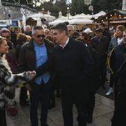 Zadrani srdačno dočekali Milanovića koji poručuje: 'Idemo po pobjedu!'