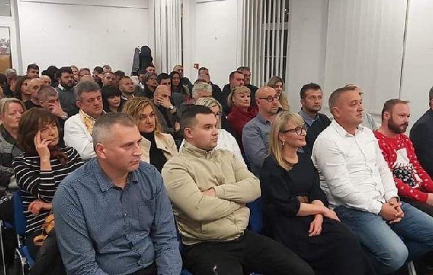 Bruna Esih u Benkovcu; U prepunoj dvorani osnovana nova podružnica NHR-a