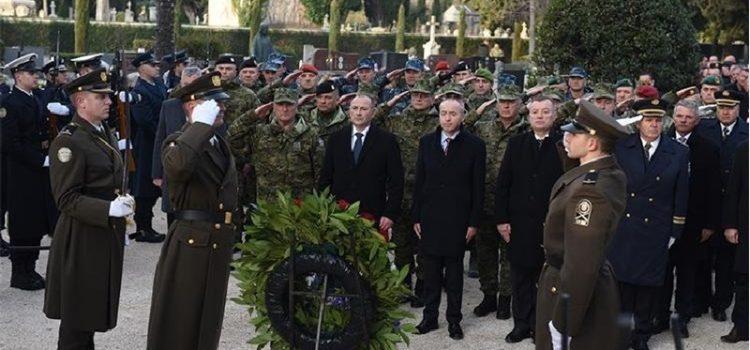27. obljetnica akcije Maslenica; Ministri Medved i Krstičević odali počast žrtvama