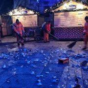 VRIJEDNI LJUDI Djelatnici Čistoće očistili gradske ulice nakon novogodišnjeg slavlja