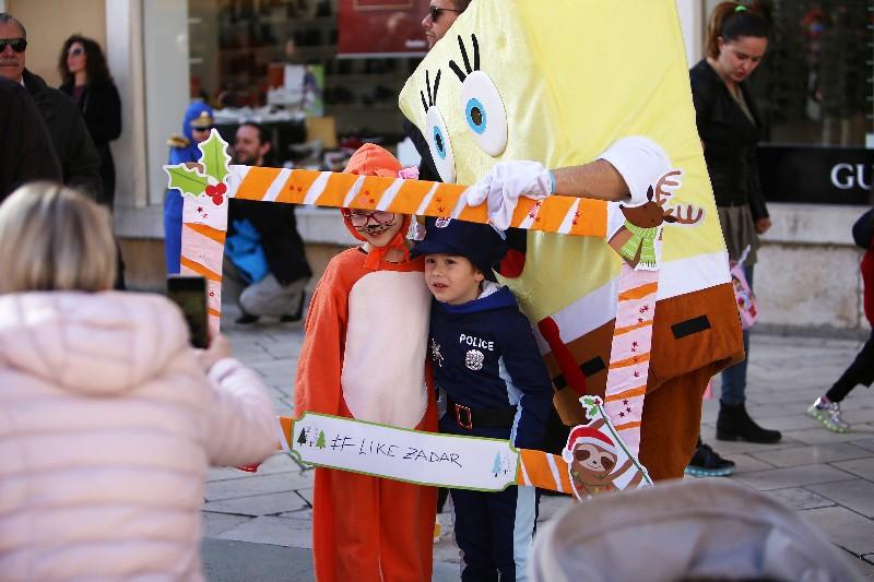 Šareni maskograd dječji karneval na Narodnom trgu 22.02.2020, foto Fabio Šimićev 64-800x533