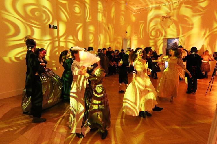 Inguracisko-karnevalski bal(in) u Kneževićevoj palači, foto Fabio Šimićev 27-750x500