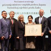 Mario Paleka preuzeo vrijedno priznanje ministra vanjskih poslova Japana za Tuna, Sushi & Wine festival