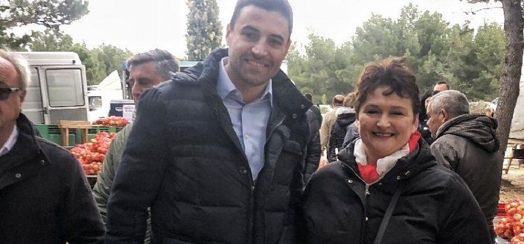 Predsjednik SDP-a Davor Bernardić posjetio je sajam u Benkovcu