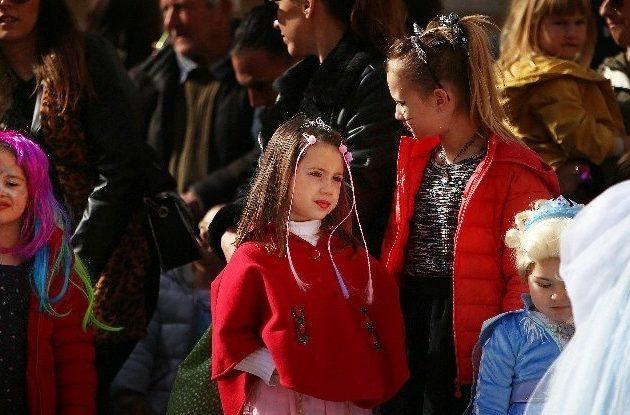 GALERIJA Dječji maskenbal održan na Narodnom trgu u Zadru