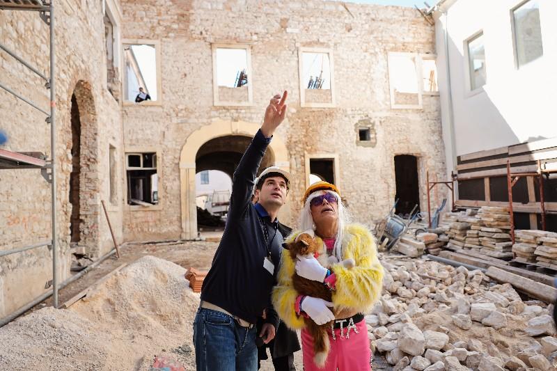 Rita Ora u obilasku grada Zadarski karneval 20.02.2020 19-800x533