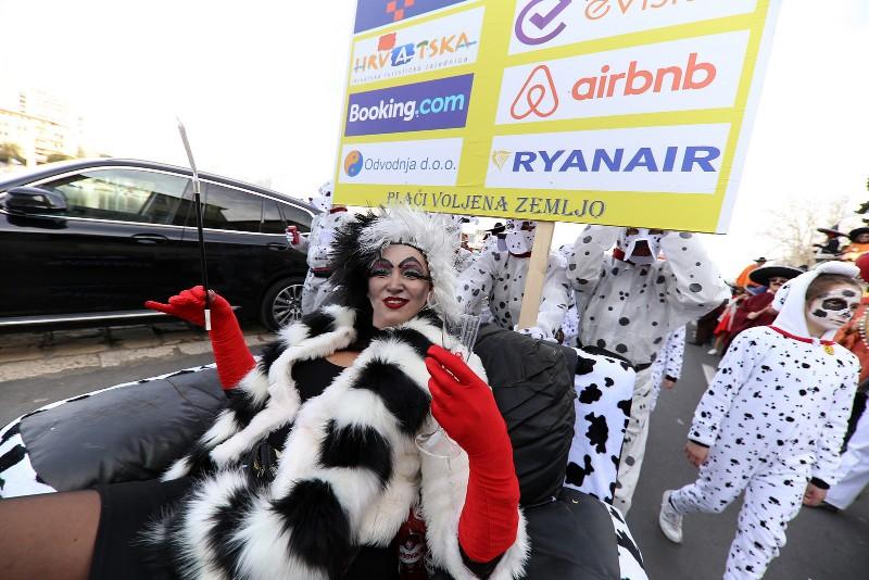 Velika karnevalska povorka Zadarski karneval 23.02.2020, foto Fabio Šimićev 2 088-800x534