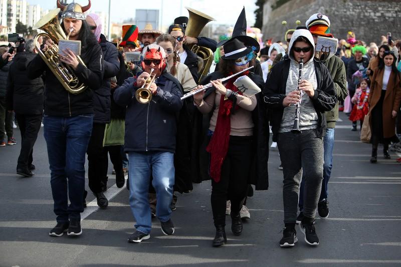 Velika karnevalska povorka Zadarski karneval 23.02.2020, foto Fabio Šimićev 2 098-800x534