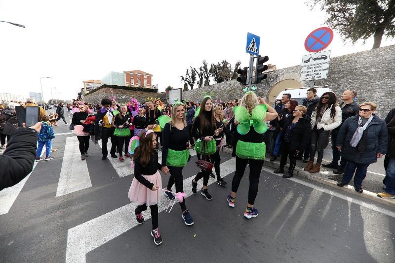 Velika karnevalska povorka Zadarski karneval 23.02.2020, foto Fabio Šimićev 2 114-800x534