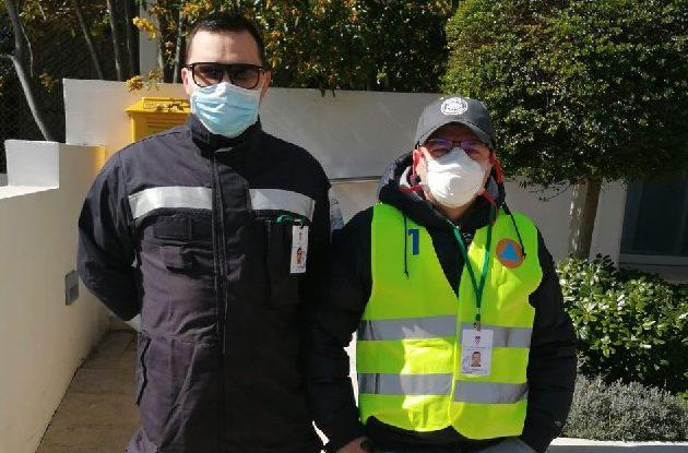 Volonteri iz Zadra pomažu oko suzbijanja korona virusa u Postrojbi civilne zaštite