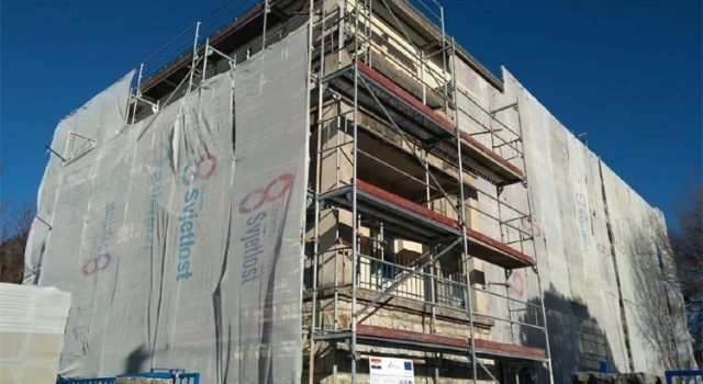 Uređuje se fasada i stolarija zgrade Policijske postaje Benkovac sredstvima EU fonda