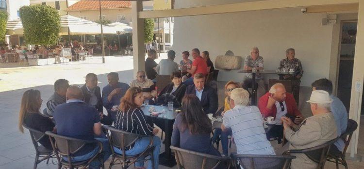 GALERIJA Vodstvo SDP-a u ugodnom druženju i razgovoru s članovima na Pagu