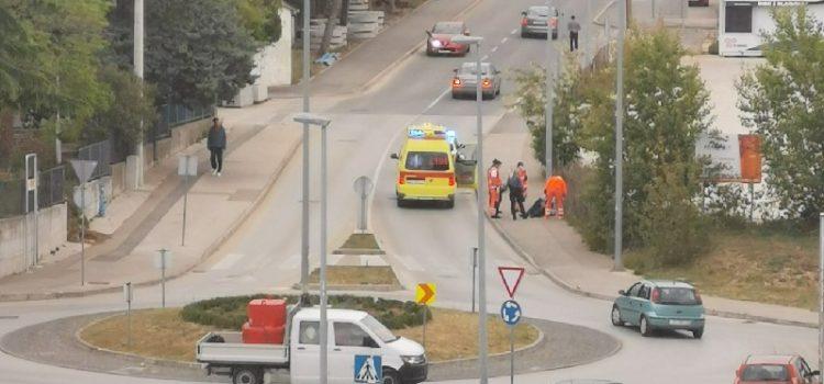 FOTO Zadranin (58) pao s električnog romobila i teško se ozlijedio