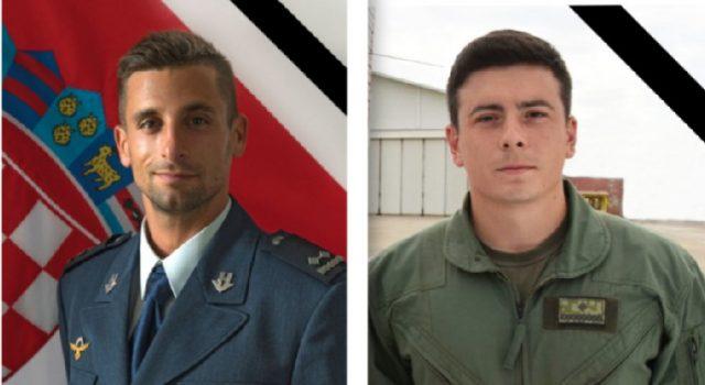 U padu aviona poginuli natporučnik Marko Novković (31) i poručnik Luka Jagatić(25)