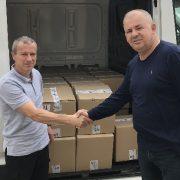 DONACIJA Dezinficijensi i zaštitna oprema za općine Zadarske županije