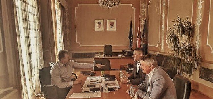 Dukić održao radni sastanak s čelnicima HGK Županijske komore Zadar