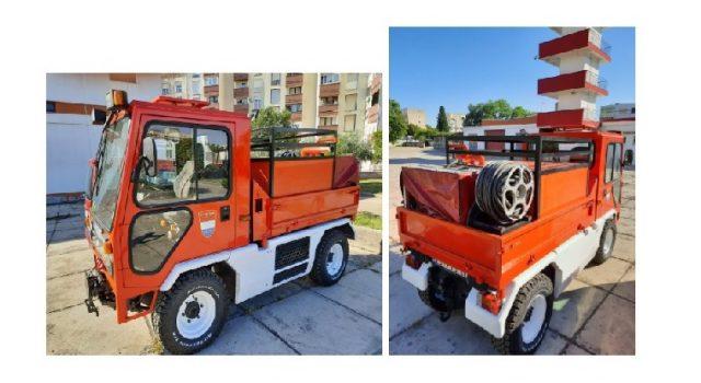 Dobrovoljno vatrogasno društvo s Velog Iža nabavilo vatrogasno vozilo za uske ulice