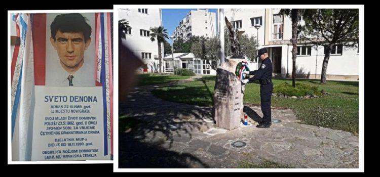 Zadarski policajci odali počast kolegi Sveti Denoni – 28. obljetnica smrti