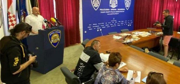 Policija zaplijenila kokain; Privedena dvojica muškaraca