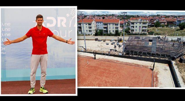 Priprema se teniski spektakl koji na Višnjiku organizira Novak Đoković