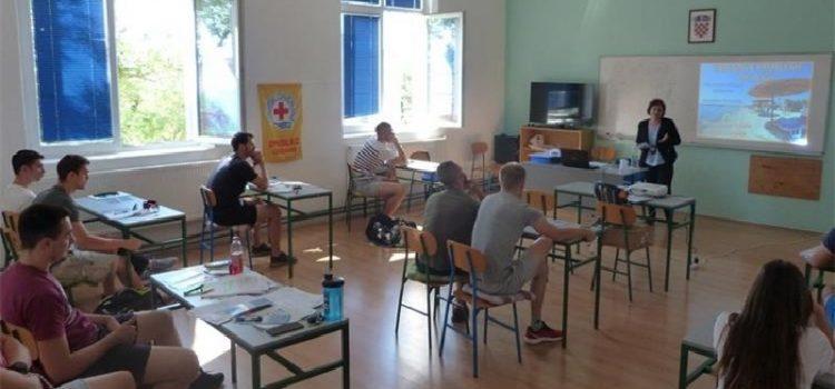 U Zadra održan tečaj za osposobljavanje spasilaca na plaži