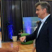 Premijer Plenković zahvalio Novaku Đokoviću na organizaciji turnira u Zadru