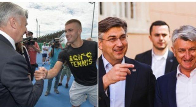 FOTO Zadarski župan Longin se rukovao s Ćorićem, pa se stiskao uz Plenkovića