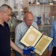 Bruno Fuzul imenovan za počasnog predsjednika Šahovskog kluba iz Bibinja