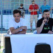 Danijel Subašić i Krševan Santini posjetili Školu nogometa HNK Zadar