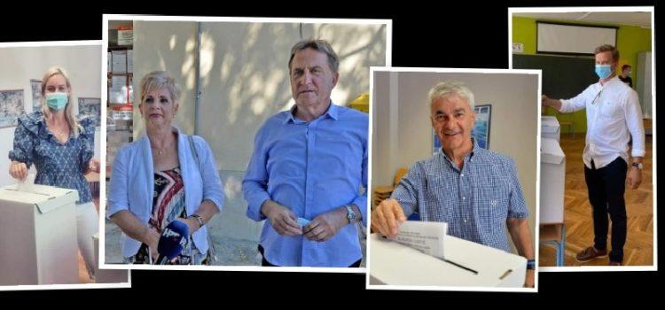 Kandidati s izborne liste HDZ-a jutros su glasovali na svojim biračkim mjestima