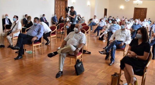 Uz pridržavanje epidemioloških mjera održana sjednica Županijske skupštine