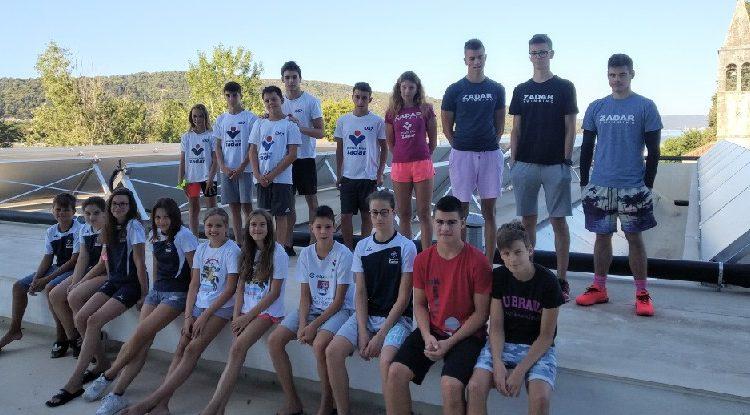 Na Regionalnom prvenstvu Hrvatske Plivački klub Zadar osvojio 12 odličja